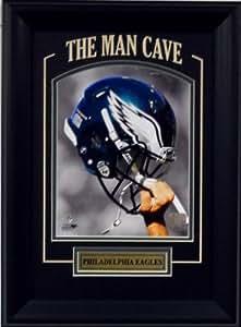 """Philadelphia Eagles NFL Football Helmet Raised High- """"Man Cave"""""""