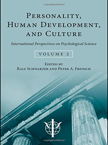 Personality, Human Development, and Culture: International Perspectives On Psychological Science (Volume 2) (Internation