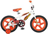 Mongoose Boys Showtime 16-Inch Bicycle, White/Orange