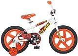 Mongoose Boys Showtime 16-Inch Bicycle, White/Orange