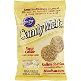 Wilton 1911-229 Limited Edition Sugar Cookie Candy Melts Candy, 10-Ounce