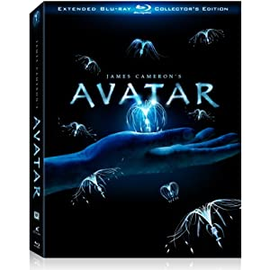 51pa%2BdQfl9L. SL500 AA300  Avatar Three Disc Extended Collectors Edition Blu ray   $34 + Free Shipping