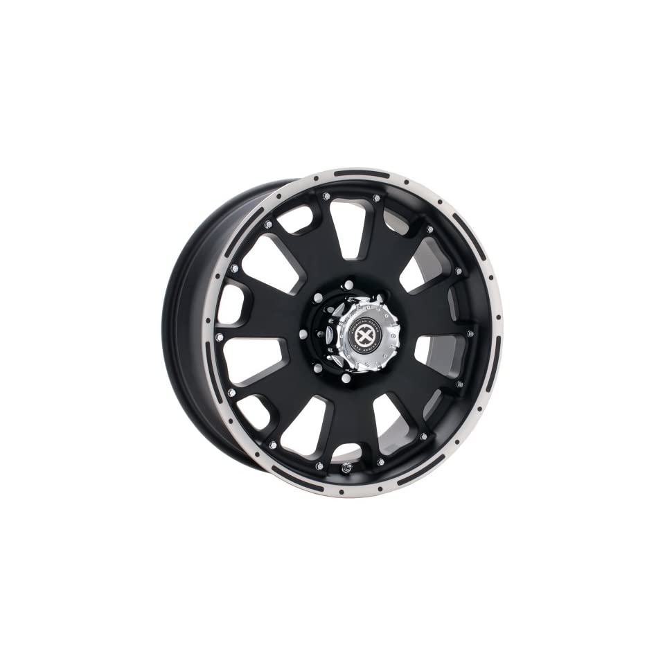 American Racing ATX Vice 17x9 Black Wheel / Rim 6x5.5 with a  12mm Offset and a 108.00 Hub Bore. Partnumber AX10767983