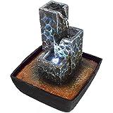 Agora-Tec® Wasserspiel & Zimmerbrunnen 'KASKADE' mit...