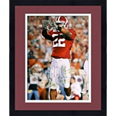 Framed Mark Ingram Signed Alabama Crimson Tide Photo - 16x20 SM - JSA Certified -...