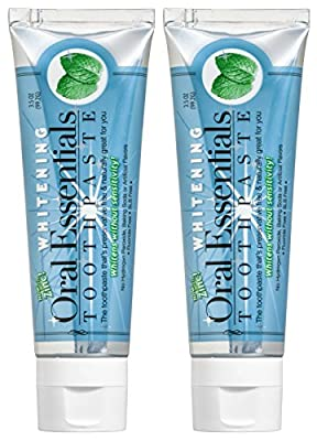 Oral Essentials Teeth Whiteing Toothpaste