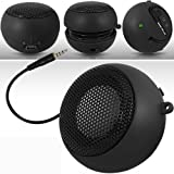 Guilty Gadgets î - Mini Portable Rechargeable Speakers For BlackBerry 8900, 9320, Bold 9700, 9780, 9790, 9900, 3G 9300, Pearl, Q10, Storm 9500, 2, Torch 9800, 9810, 9860, Z10, Nokia Lumia 620, 710, 720, 800, 820, 900, 920, Sony acro S, Xperia E, go, i