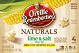 Orville Redenbachers Natural Salt & Lime Microwave Popcorn, 6.2-Ounce Boxes (Pack of 12)