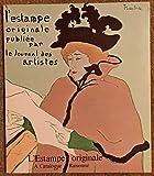img - for L'ESTAMPE ORIGINALE - A CATALOGUE RAISONNE book / textbook / text book