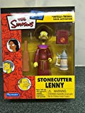 ザ・シンプソンズ フィギュア WOS Rare Stonecutter Lenny The Simpsons Figure MINT Condition 2003 [並行輸入品]