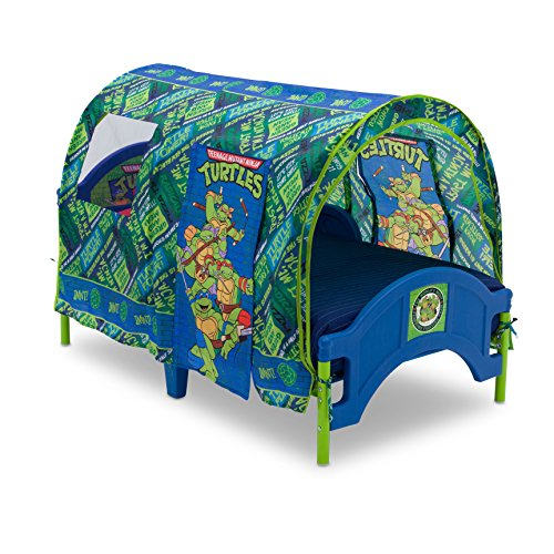 Delta Children Toddler Tent Bed, Nickelodeon Teenage Mutant Ninja Turtles (Ninja Turtles Bed compare prices)