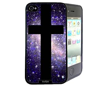 Shawnex Galaxy Hipster Cross Nebula Space ThinShell Case Protective iPhone 4 Case iPhone 4S Case