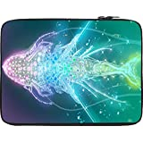 Snoogg Digital Fishy 12 To 12.6 Inch Laptop Netbook Notebook Slipcase Sleeve