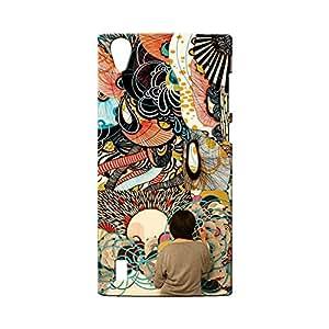BLUEDIO Designer Printed Back case cover for VIVO Y15 / Y15S - G6399