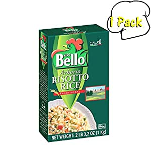 Amazon.com : Italian Arborio Risotto Rice, 35.2 Ounces, 1