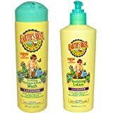 Earth's Best Jason, Earths Best Soothing Lavender Shampoo and Body Wash + Soothing Lotion, 8.5 Fl Oz