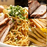 老舗ビアホール札幌米風亭の油そば 2食入り 3セット 合計6食とチャーシュー、メンマ各2個