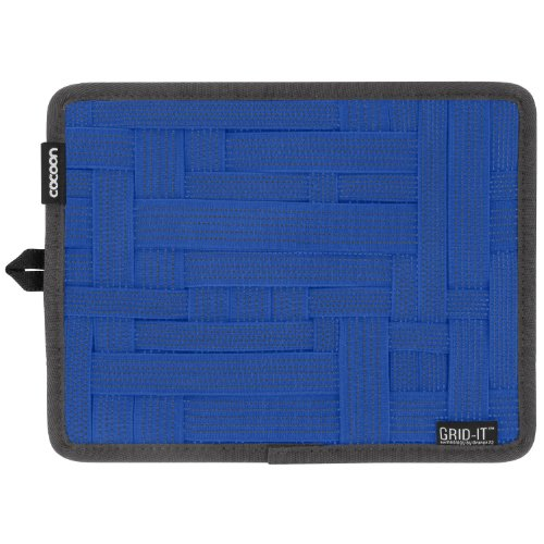 New Cocoon Grid It Cpg7Bl Travel Organizer Case Blue With Promo Stamp front-208520