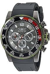 Invicta Men's 20029SYB Pro Diver Analog Display Japanese Quartz Grey Watch