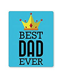 PosterGuy Best Dad Ever King's Crown | Father's Day Gift Mouse Pad