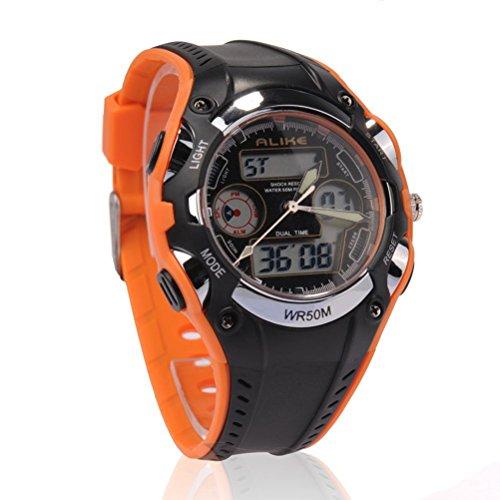 pixnor-alike-ak9132-waterproof-students-childrens-wrist-watch-orange-black
