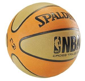 Spalding NBA Cross Traxxion Outdoor Rubber basketball - Official Size 5 (27.5