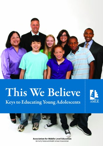 This We Believe: Keys to Educating Young Adolescents PDF