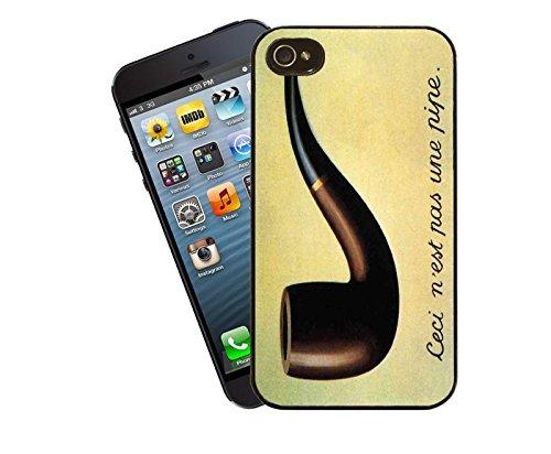 Rene Magritte-Custodia per iPhone, adatto a Apple modello 4 e 4s, dal Eclipse Gift Ideas