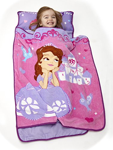 Disney Toddler Rolled Nap Mat, Princess Sofia - 1