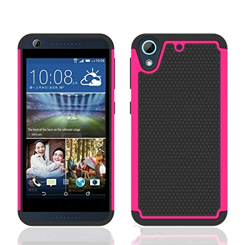 voberryr-rubber-hybrid-hard-silicone-shockproof-case-cover-for-htc-desire-626-626s-hot-pink
