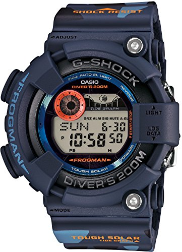 Casio G-Shock Men in Camouflage Frogman Digital Quartz Men's Watch...
