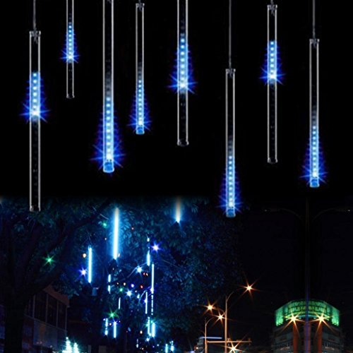 OFTEN-8-x-30cm-Meteor-Shower-Rain-LED-Tube-String-Christmas-Xmas-Light