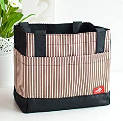 Thermal Lunch Box Bag - BROWN