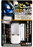 【RISE】 LEDライト マグネットスイッチ式 白色 LED 自動点灯 消灯 ドア 窓 クローゼット