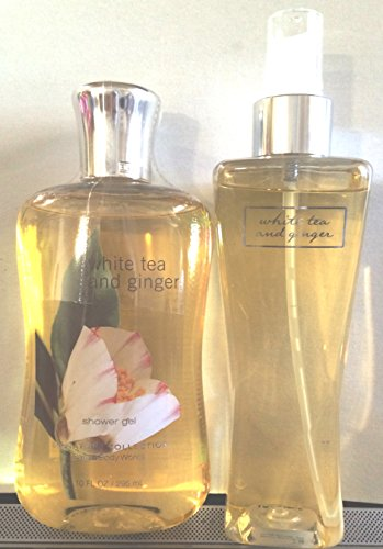 White Tea And Ginger 8Oz Fragrance Mist And 10Oz Shower Gel (Lot Of Two)