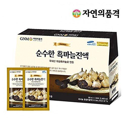 GNM pure black garlic extract / Korean / garlic juice / vegetable juice / health juice / garlic juice (Black Garlic Juice compare prices)