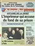 AUJOURD'HUI EN FRANCE [No 16959] du 1...