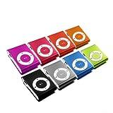 Mini MP3-Player inklusive Clip und Kopfhörer, Aluminium...