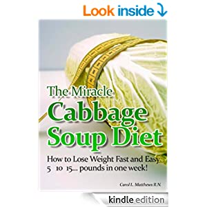 """The Miracle Cabbage Soup Diet""-How to Lose 5, 10, 15 ..."