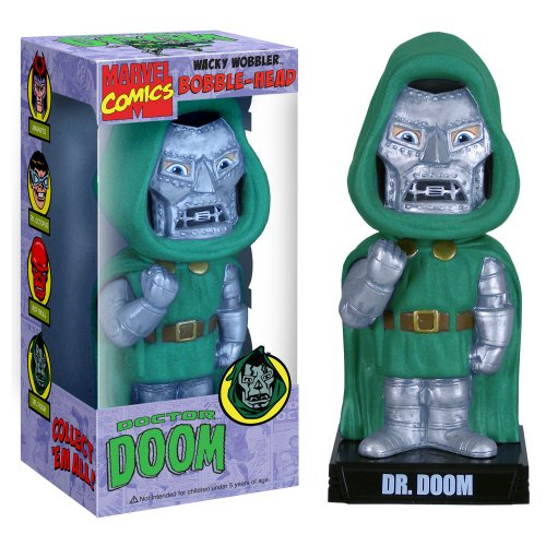 Buy Low Price Funko Dr. Doom Wacky Wobbler Figure (B001F29CVK)