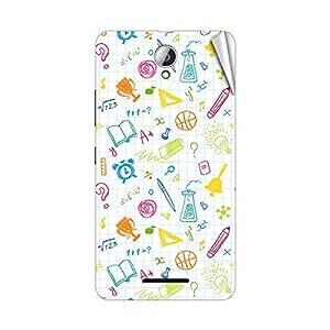 Garmor Designer Mobile Skin Sticker For Lenovo S898T - Mobile Sticker