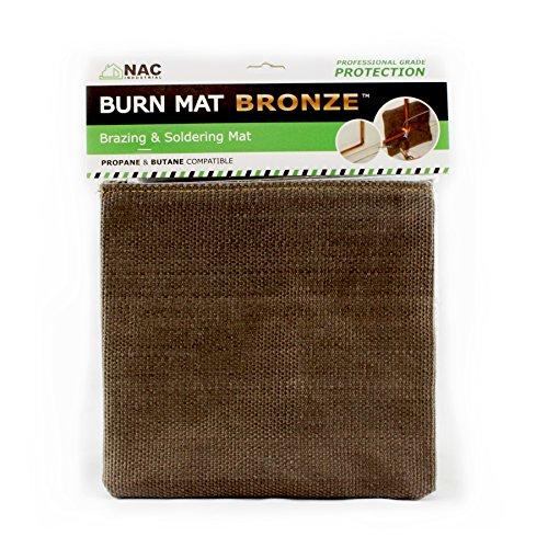 heat-fire-flame-barrier-heat-resistant-welding-blanket-burn-mat-bronze-kelvar-fabric-heat-shield-by-