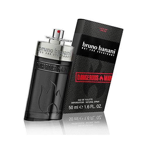 Bruno Banani Dangerous Man Eau de Toilette, Uomo, 50 ml