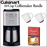 Cuisinart DGB-650BC Grind-and-Brew Thermal 10-cup Automatic Coffeemaker + U ....