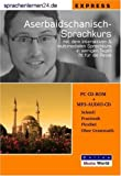 echange, troc Udo Gollub - Sprachenlernen24.de Aserbaidschanisch-Express-Sprachkurs CD-ROM für Windows/Linux/Mac OS X + MP3-Audio-CD für Computer/MP3-Pl