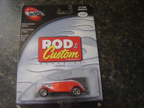 Hot Wheels Rod & Custom 34 Ford Roadster