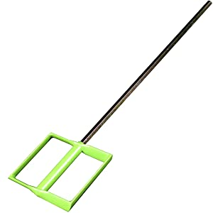 Delko Remodeler's Drywall Taping Banjo Tool with Inside Corner Roller, Mud Mixing Paddle, Bucket Scoop and Universal Coarse Thread Handle Adapter