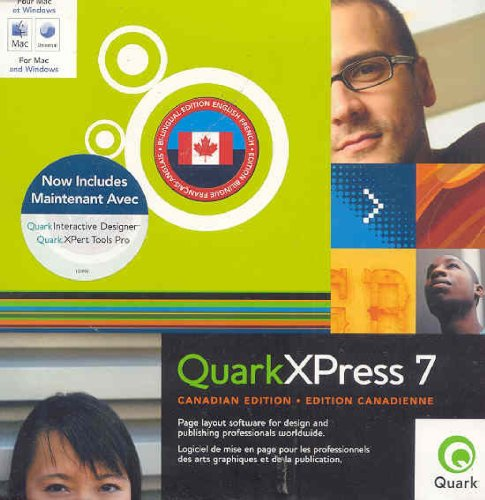 Quarkxpress 7 Full Mac/Win 1user Canadian Version No Returns