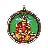 Redbag Siddhi Vinayak Ganesha - Silver Pendant ( 3.43 Cm, 3.43 Cm, 1.27 Cm )