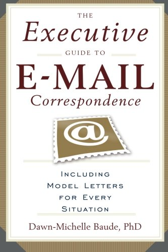 the-executive-guide-to-e-mail-correspondence-including-model-letters-for-every-situation